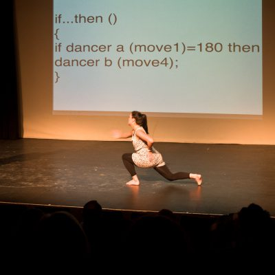 Kate Sicchio: Livecoding of dance performance